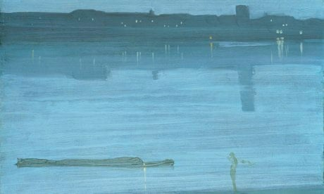 Whistler's Nocturne in Blue and Silver